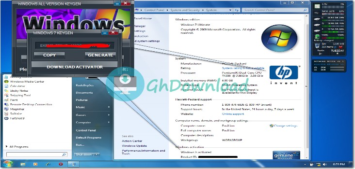 Windows 7 Key Generator