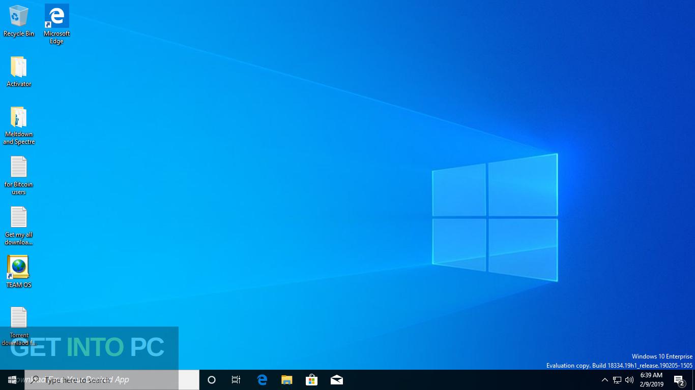 Windows 10 AIO 19H1 32 64 Bit Feb 2019 Screenshot 7-GetintoPC.com