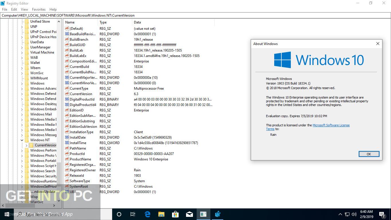 Windows 10 AIO 19H1 32 64 Bit Feb 2019 Screenshot 12-GetintoPC.com