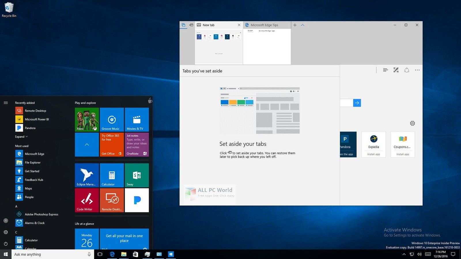 Windows 10 RS5 Pro Lite Edition v8 2019 Free Download