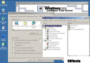 Windows 2000 free desktop mode