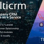 Multicrm v1.1.5 - Powerful Laravel CRM +Front End Software As A Service