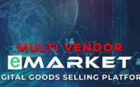 eMarket - Digital Goods Selling Platform - nulled