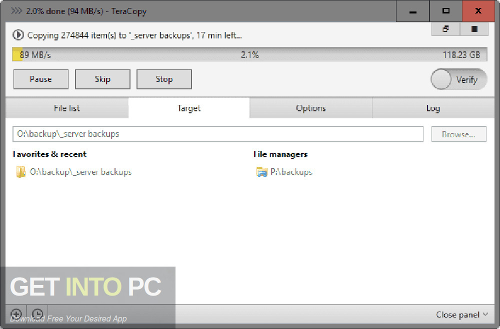 TeraCopy Pro 2019 Direct Link Download-GetintoPC.com