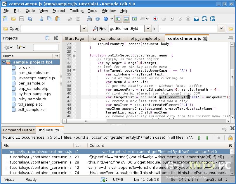 ActiveState Komodo IDE Direct Download Link