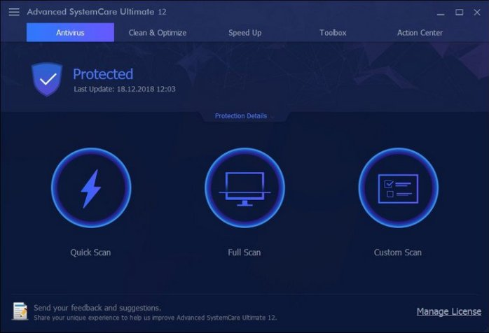 Advanced SystemCare Ultimate 12 Full Version