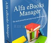 Alfa eBooks Manager Web 8.1.7.3 + Portable [Latest]