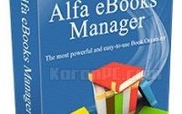 Alfa eBooks Manager Web 8.1.7.3 + Portable [Latest]