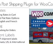 Canadian Mail Woocommerce Delivery Plugin v1.6.7