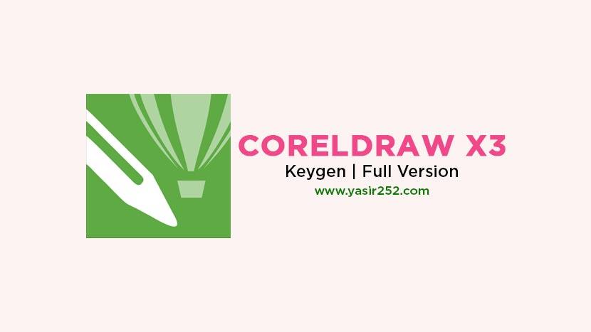 corel draw x3 suite keygen