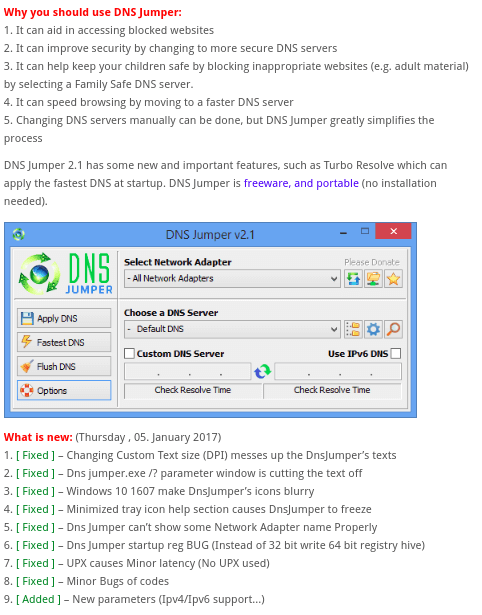 DNS testing tools
