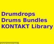 Drumdrops Drums Bundles KONTAKT Library Free Download-GetintoPC.com