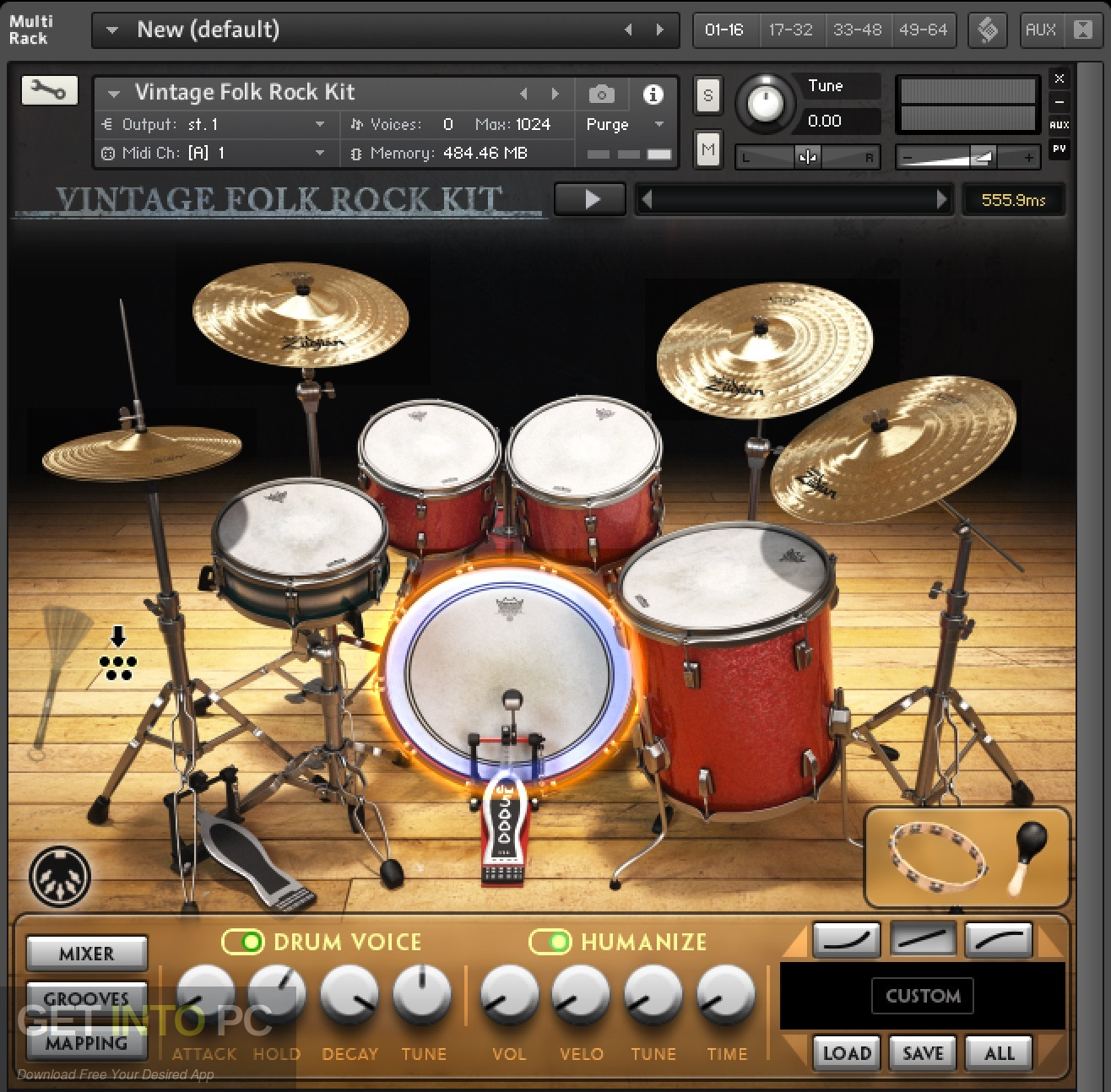 Drumdrops Drums Bundles Library KONTAKT Latest version Download-GetintoPC.com
