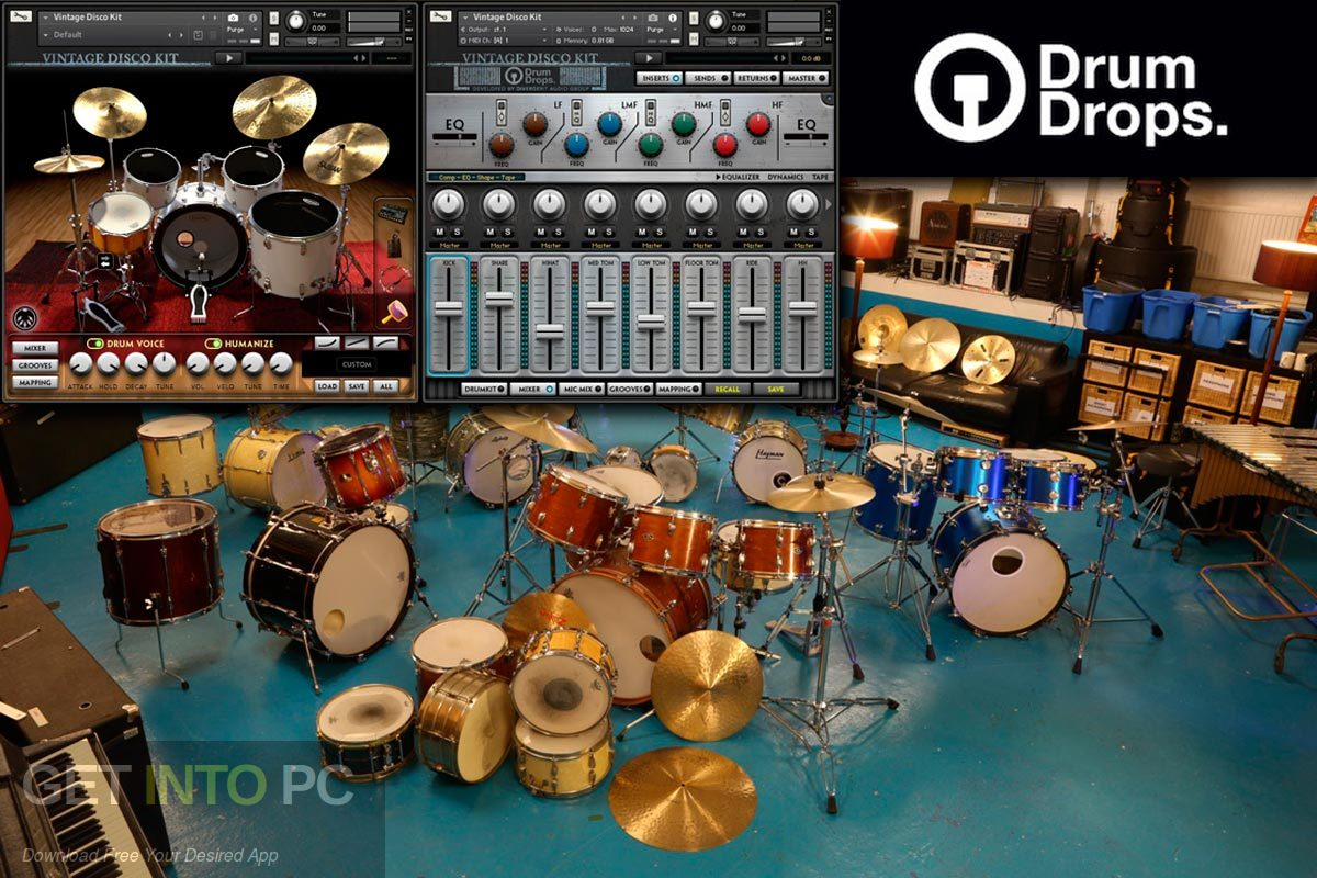 Drum Drums Drum Bundles KONTAKT Library Standalone Installer Download-GetintoPC.com