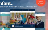 Enfant v2.4 – School and Kindergarten WordPress Theme
