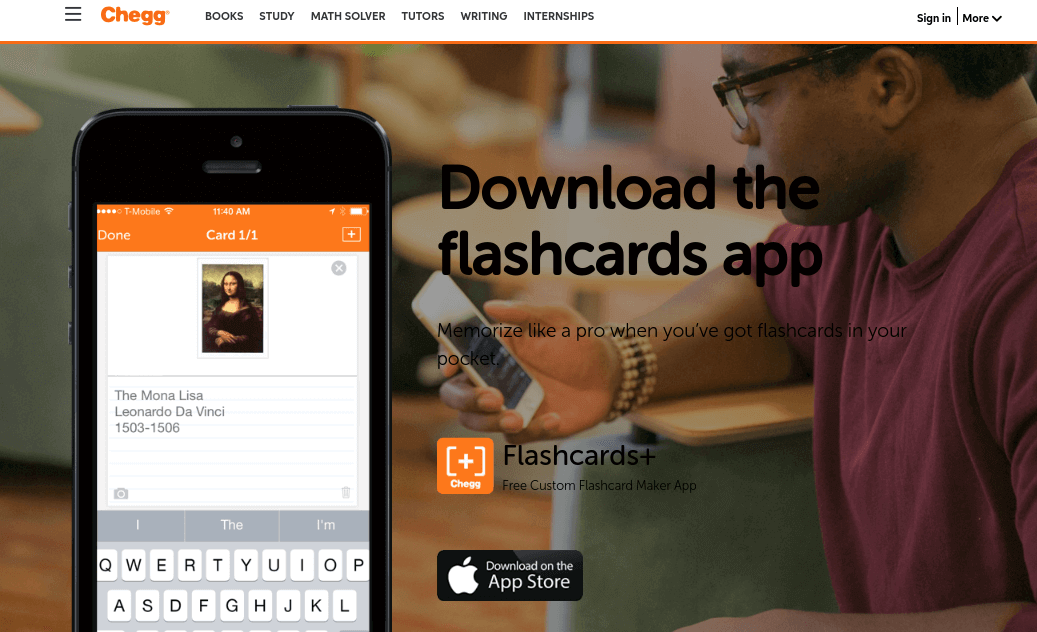 the best flashcard application