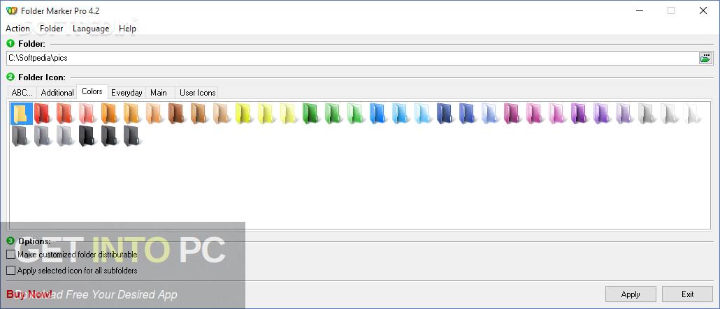 Folder Marker Pro Direct link Download-GetintoPC.com