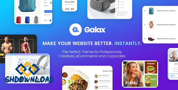 Galax v1.0 – Creative eCommerce Multi-Purpose Theme