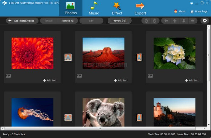 GiliSoft SlideShow Maker 10
