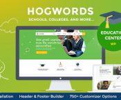 Hogwords v1.1 – Education Center WordPress Theme