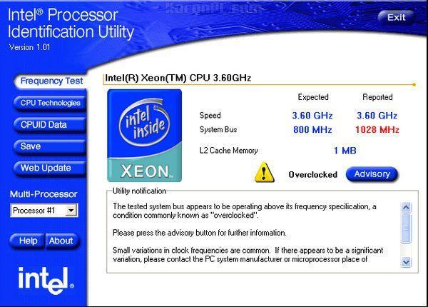 Intel Processor Identification Utility Free Download