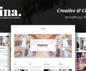 Jina v1.5 – Celebration Agency Theme