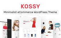 Kossy v1.7 – Minimalist eCommerce WordPress Theme