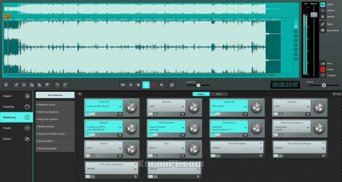 MAGIX SOUND FORGE Audio Cleaning Lab Full customization