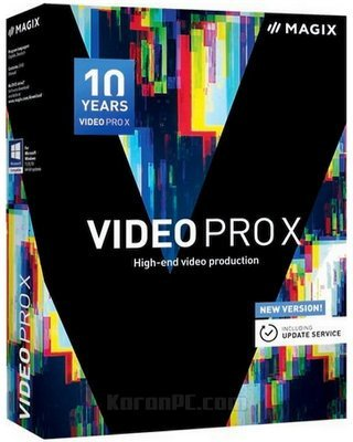 MAGIX Video Pro X10 free download