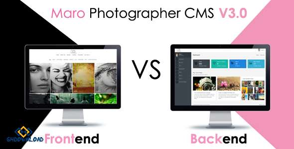 Maro Phpotographer CMS v2.2