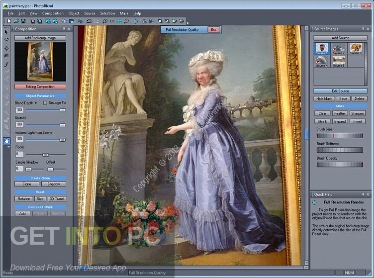 Mediachance Photo BLEND 3D Direct link Download-GetintoPC.com