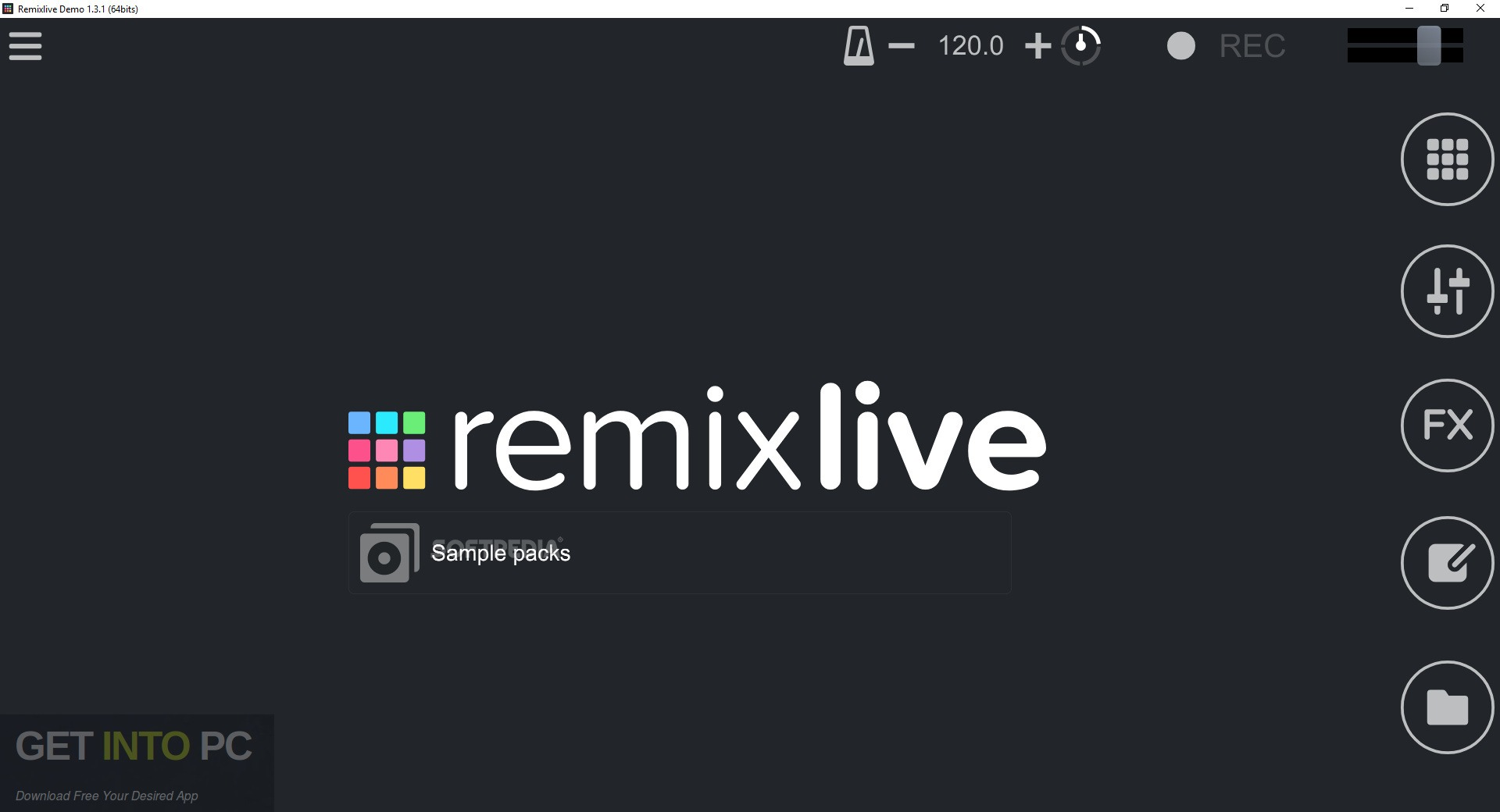 Mixvibes Remixlive for Windows Free Download - GetIntoPC.com