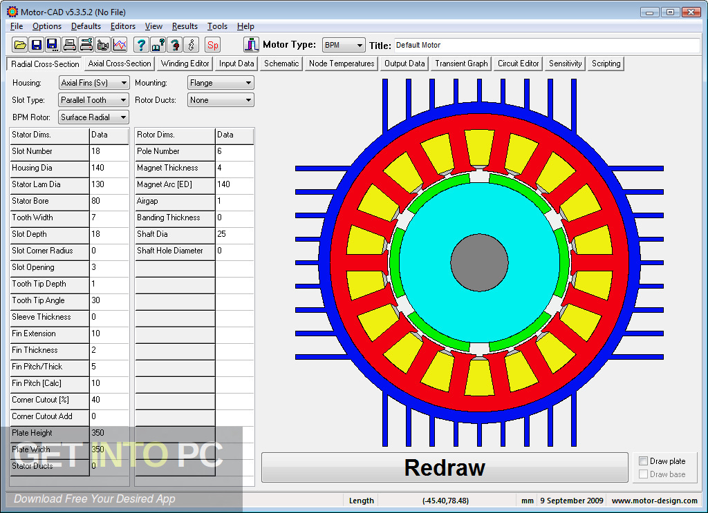 Direct link to Motor-CAD Download-GetintoPC.com