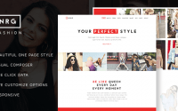 NRG Fashion v1.4 – Model Agency One Page Beauty Theme