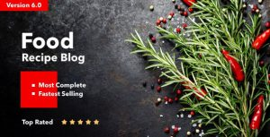 Neptune v6.3.2 – Theme for Food Recipe Bloggers & Chefs