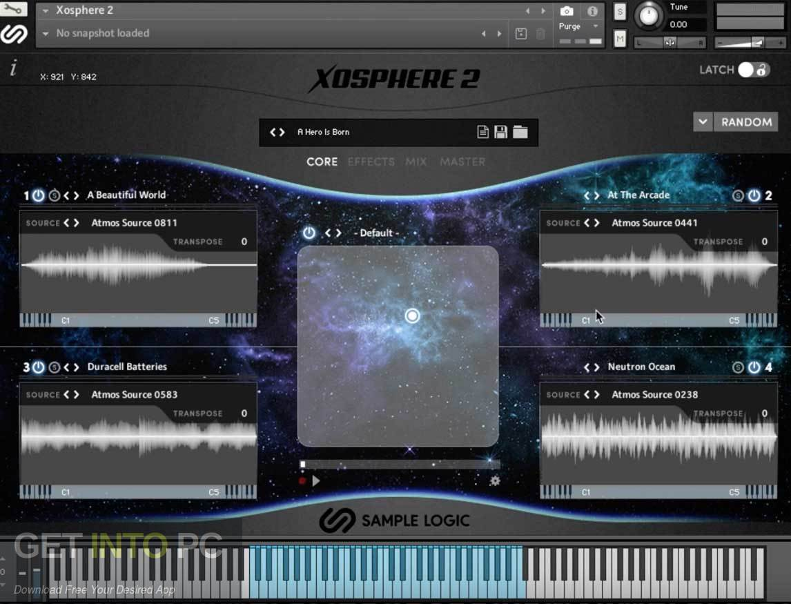 Logic Example - Xosphere 2 Kontakt Library Direct link Download-GetintoPC.com