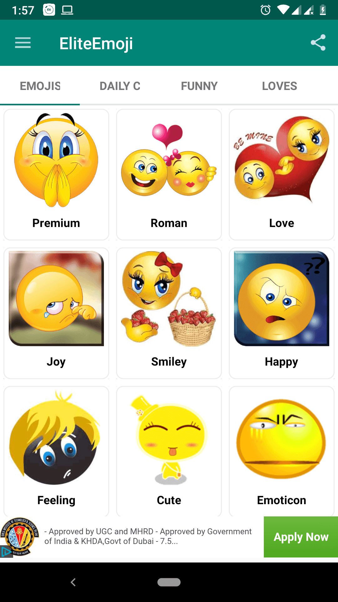 best emoticon changing apps