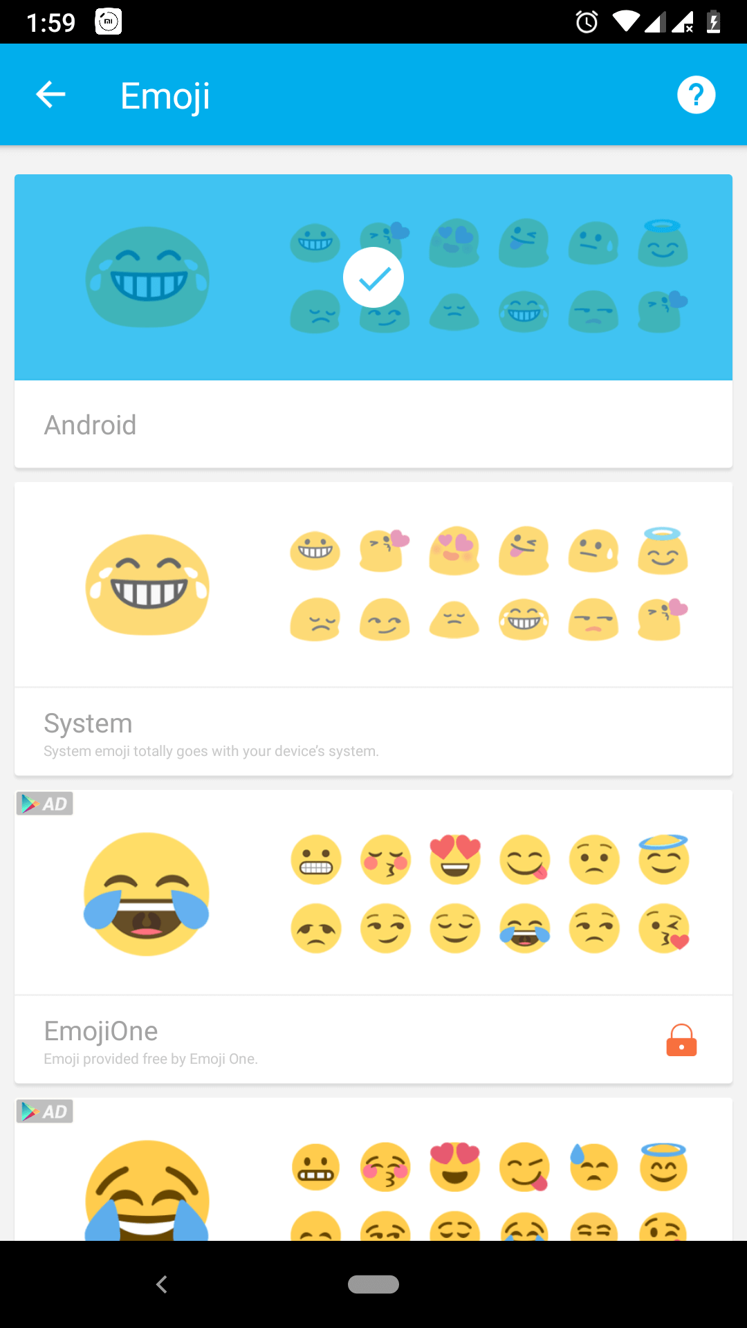 Emoji Android Apps