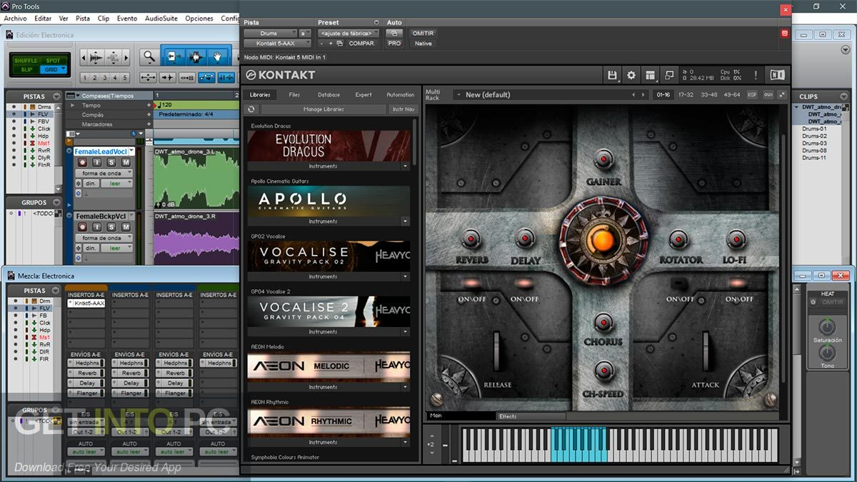 TH Studio Trailer Elements Cinematic Sound Package Kontakt Library Direct link Download-GetintoPC.com