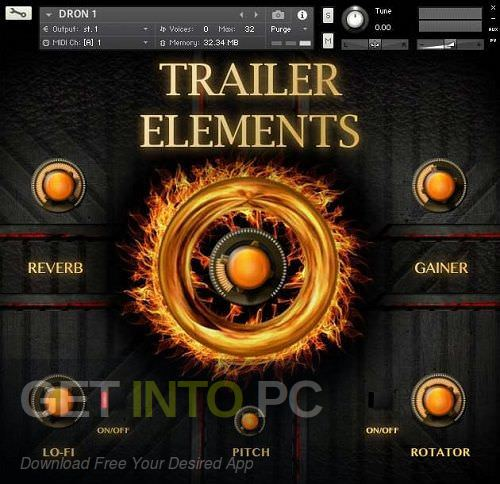 TH Studio Trailer Elements Cinematic Sound Packet Kontakt Library Free Download -GetintoPC.com