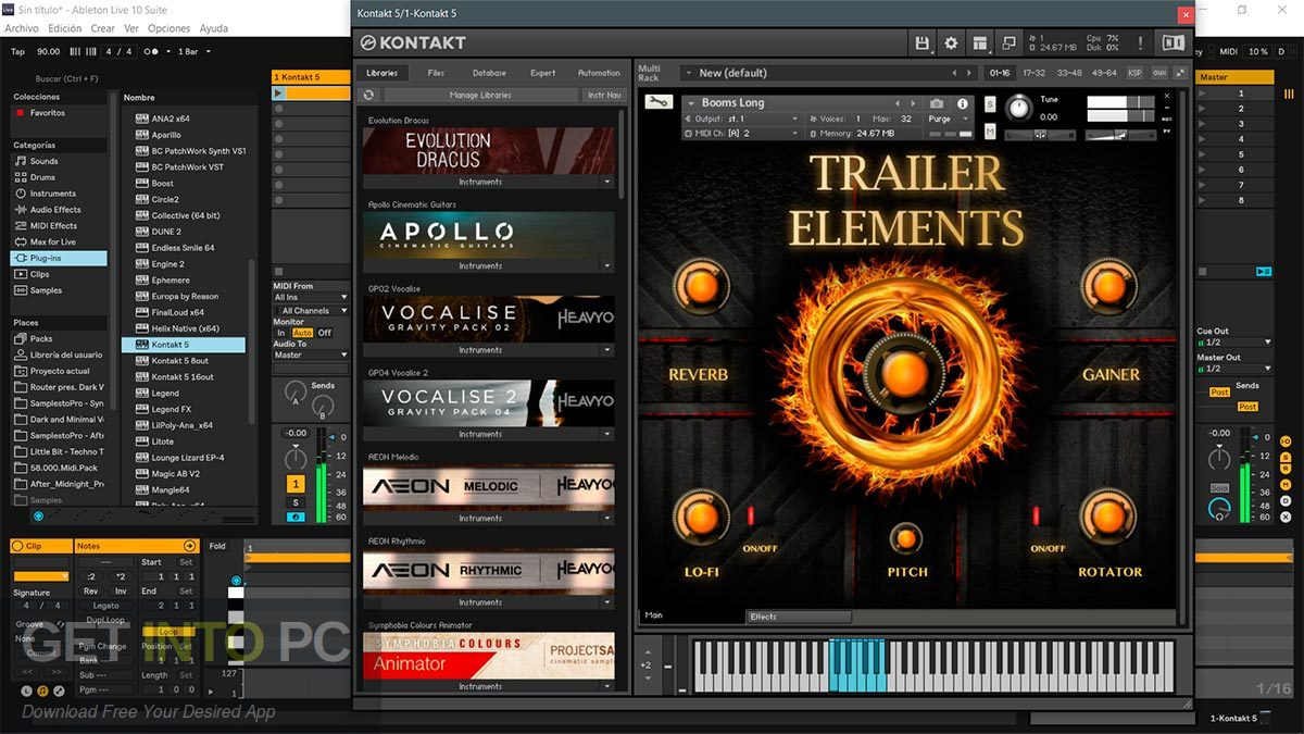 TH Studio Trailer Elements Cinematic Sound Package Kontakt Library Latest Version Download-GetintoPC.com