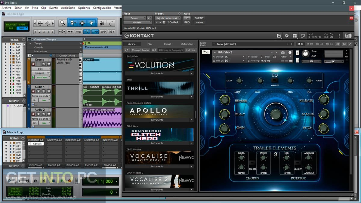 TH Studio Trailer Elements Cinematic Sound Pack Kontakt Library Standalone Installer Download-GetintoPC.com
