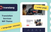 Translang v1.1.2 – Translation Services & Language Courses