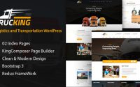 Trucking v1.5 - Logistics and Transportation Theme