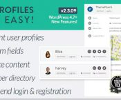 User Profiles Made Easy v2.3.09 - WordPress Plugin