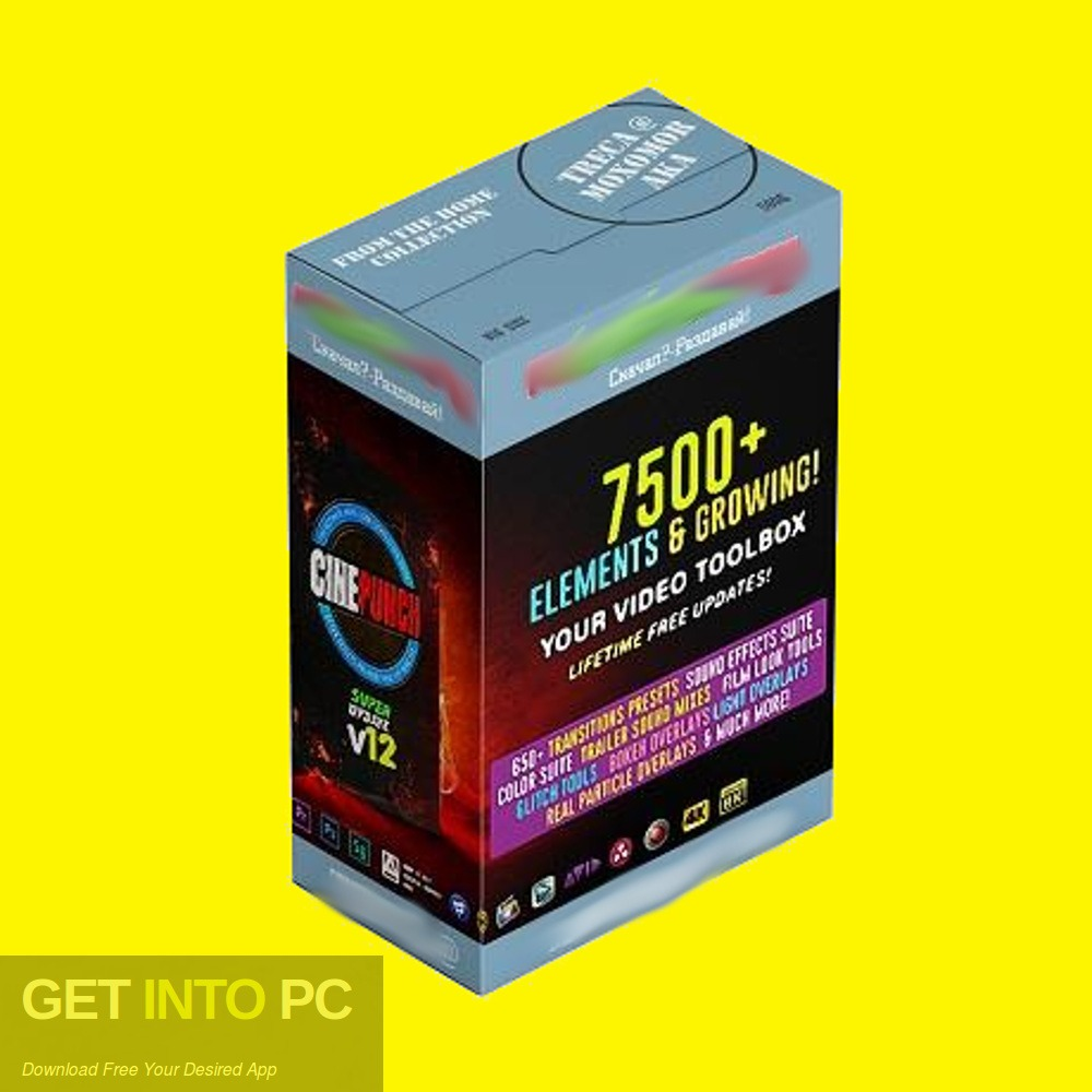 VideoHive CINEPUNCH 7500+ Elements 2018 Free Download - GetintoPC.com