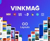 Vinkmag v1.3 - multifunctional creative newspaper