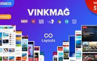 Vinkmag v1.3 - multifunctional creative newspaper