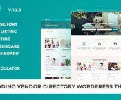 Wedding Vendor v1.2.0 – Vendor Directory WordPress Theme