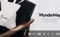 WunderMag v2.6.1 – A WordPress Blog / Magazine Theme